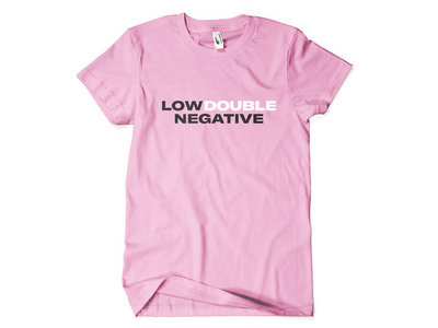 Double Negative Pink T-Shirt main photo