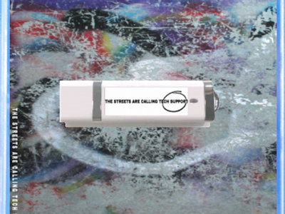 Limited Edition USB Drive W/ 3D Artwork from THE STREETS ARE CALLING TECH SUPPORT main photo