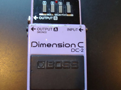 Rare vintage (1982) Dimension C Effects Unit (Made In Japan) + Echoes In Space 4.2 GB Sound Library main photo