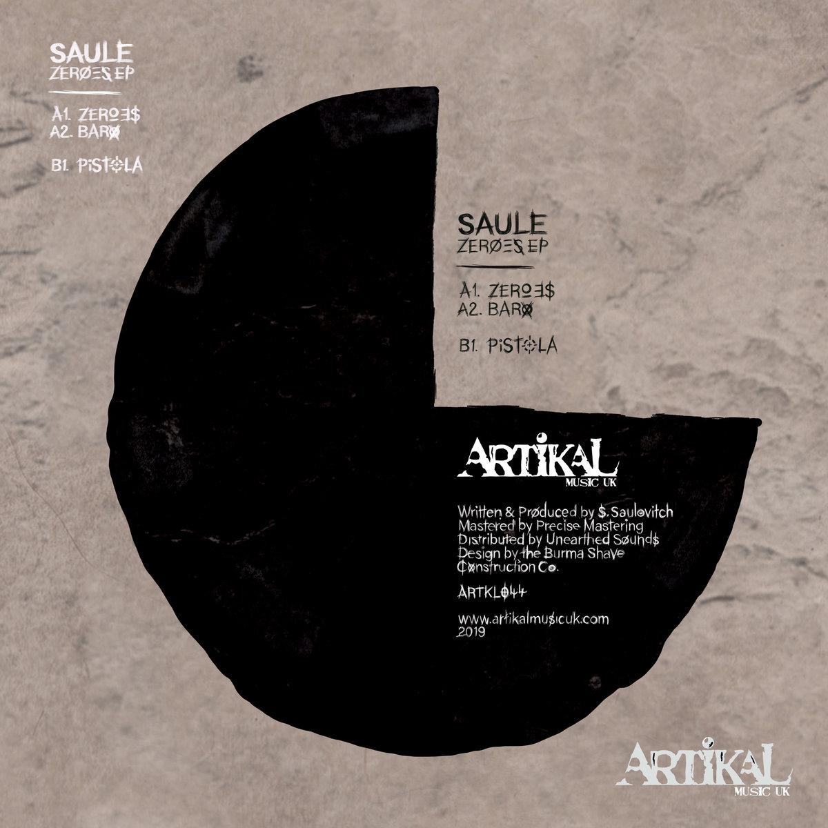 Zeroes EP   Artikal Music UK