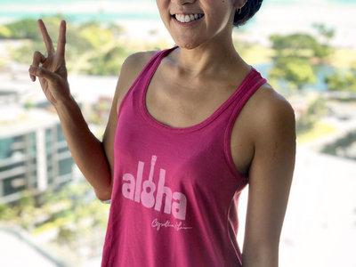 Aloha Ladies Tank: Limited Edition Summer Color main photo