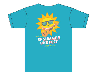 SF Summer Uke Fest Tshirt main photo