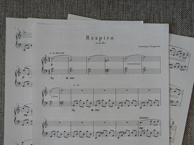 """""""Respiro"""" Piano Sheet main photo"""