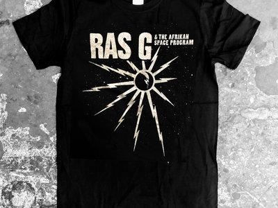 RAS G : Black t-shirt main photo