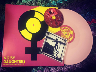 Noisy Daughters LP & Without Apology CD Bundle - (5 Copies only)