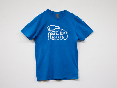MILK! RECORDS Milk Logo TSHIRT [ARCTIC BLUE] main photo