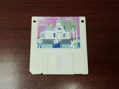 """Wizard of Loneliness - Earth Daze 3.5"""" Floppy Disk main photo"""