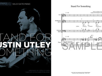 Stand For Something – Sheet Music (SATB/Solo/Piano) main photo
