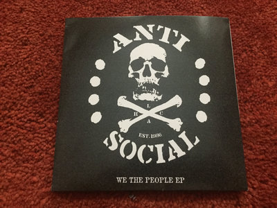Anti-Social - We The People CD EP main photo