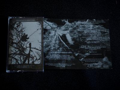 """""""Und Monoton Herbstlinien""""  Split Cassette main photo"""