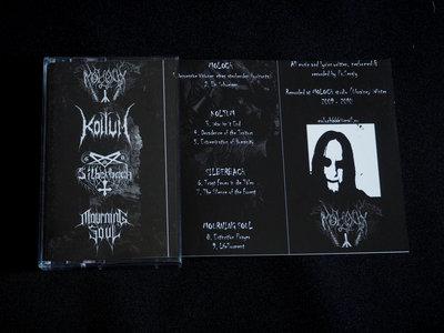"""""""Possessed by the unholy Black Art"""" split Cassette main photo"""