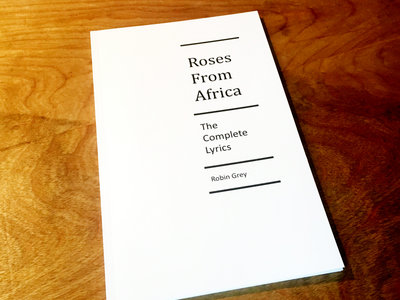 Roses From Africa - lyrics book main photo
