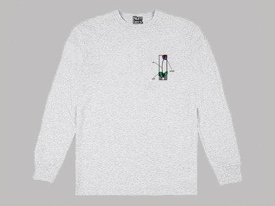 Mackintosh x Numbers (Ash Grey Long Sleeve T-Shirt) main photo