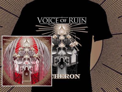 "Bundle 1: New album + T-Shirt ""Acheron"" (black or red) main photo"