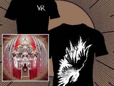 "Bundle 2: New album + T-Shirt/Tank Top ""Rotting Crows"" (black or white) main photo"