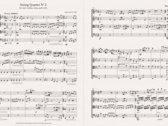 Sheet music: String Quartet No 2 (full score + parts) photo
