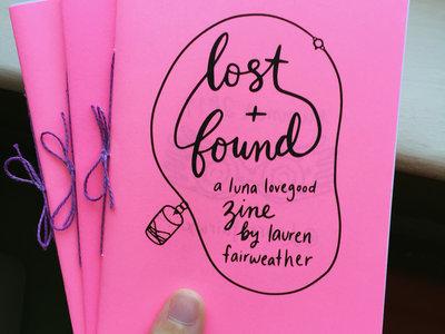 "Zine - ""Lost and Found"" main photo"