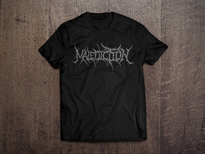 Malediction Logo Shirt main photo