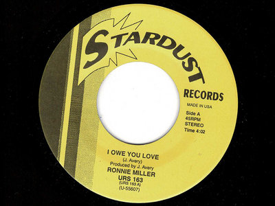 I OWE YOU - RONNIE MILNER / I NEED YOUR LOVE- THE DYNAMICS - NM main photo