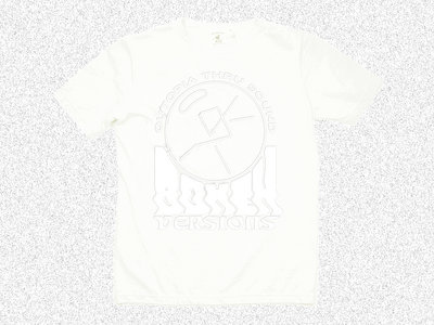 White on White™ Bokeh Logo tee main photo