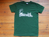 "T-Shirt ""Riot"" (Grey or Green) photo"
