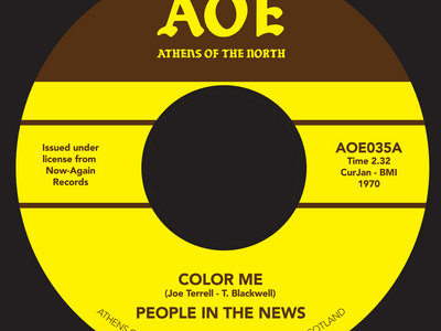 "People in the News - Color me [7"" Vinyl] main photo"