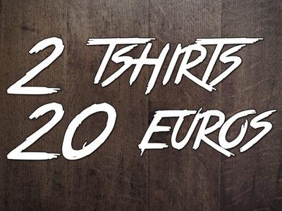 2 Skatepunkers t-shirts for 20€ main photo