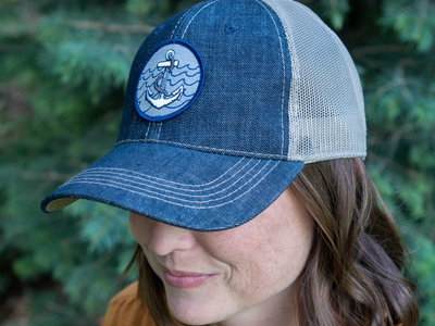 Anchor Denim Trucker Hat main photo