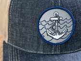 Anchor Denim Trucker Hat photo