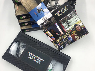 VHS: Andrew Gibson's Rock N' Roll Home Movies (DA Distro) main photo