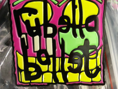 """Rubella Ballet 1"""" metal badge/button (Very Limited) main photo"""