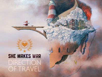 "Direction Of Travel 12"" Album Artwork Prints - 8 left! main photo"