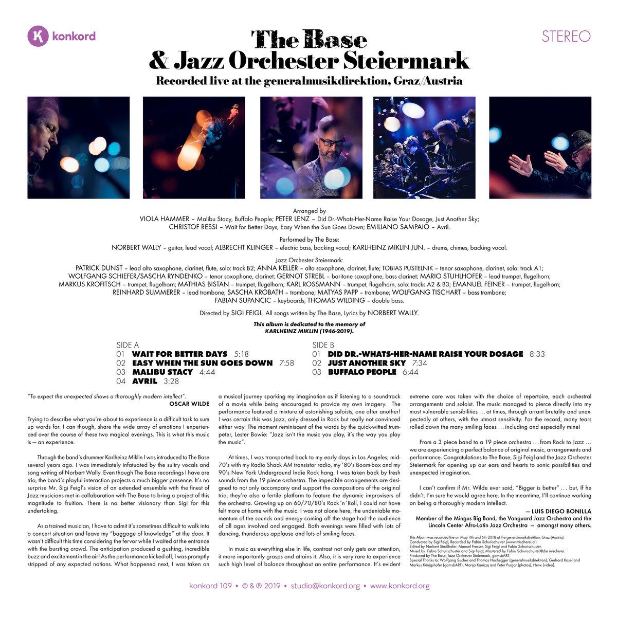 The Big Base Band | konkord