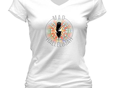 Women's V-Neck T-shirt main photo