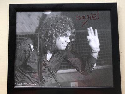 Framed autographed photo main photo