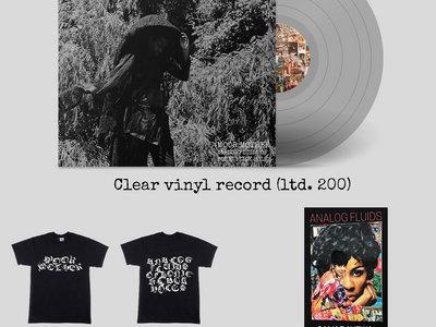 Clear Vinyl + Poetry Book + Shirt Bundle main photo