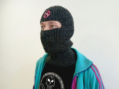 Hand-knitted Fuk The Borders Balaclava main photo