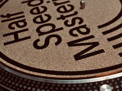 Cork HALF SPEED MASTERING Slipmat // Limited Quantity main photo