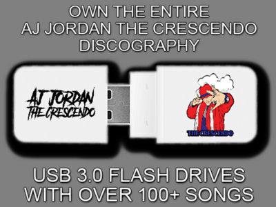 AJ Jordan The Crescendo USB Flash Drive Discography (100+ Songs) main photo
