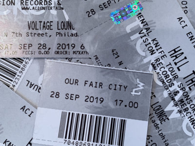 Ticket - September 28th @ Voltage Lounge w/ Hail the Sun, Strawberry Girls, Royal Coda, & VIS main photo