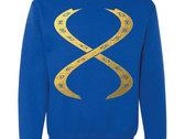 DNA Feelings Sweater (Black/White/Blue) photo