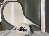 Burd Brain Handstyles Flexfit white/black (FREE POSTAGE) photo