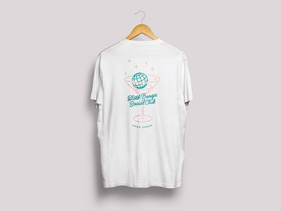 SlothBoogie Social Club T-Shirt (White) main photo