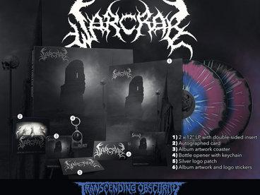 WARCRAB Blue/Purple/Black Merge with Splatter Double LP Box Set (Limited to 20) main photo