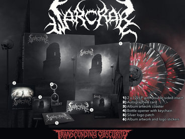 WARCRAB Red/Black Merge with White Splatter Double LP Box Set (Limited to 20) main photo