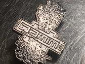 DAMIM hand logo pin photo