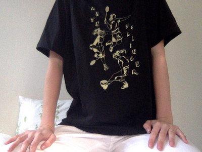 Badminton T-Shirt - Black main photo