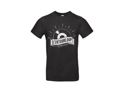 """L'Entourloop T-Shirt """"vinyl"""" black main photo"""