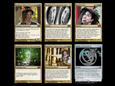 Frostylocks Set of Six Trading Cards main photo