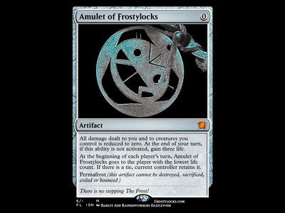 Amulet of Frostylocks Trading Card main photo